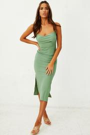 Riedle Bay Midi Dress // Olive